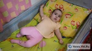 Дочь Виктории Жасмина. У девочки детский церебральный паралич.
